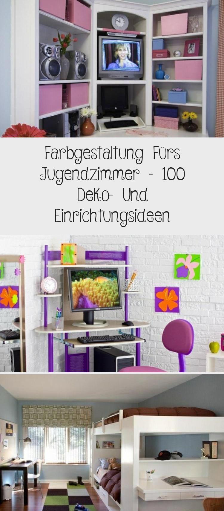 Farbgestaltung Furs Jugendzimmer 100 Deko Und Einrichtungsideen