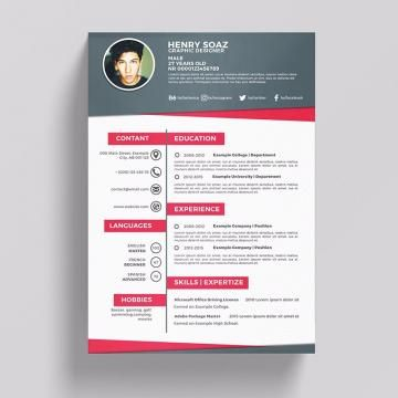 Parede Criativa De Fundo Simples Resume Template Downloadable Resume Template Creative Resume Templates