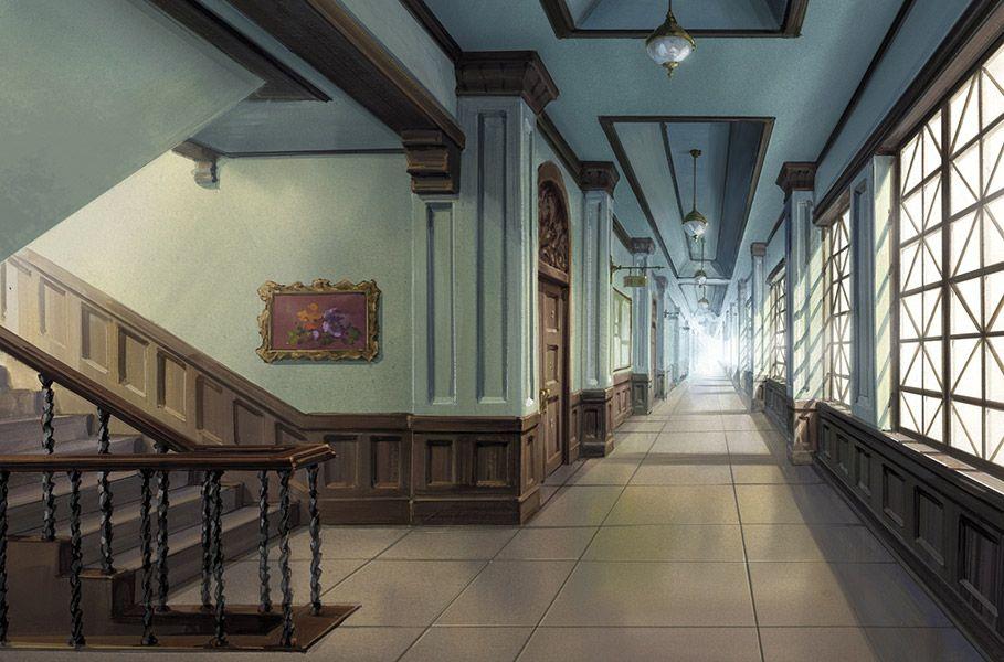 魔法学園 廊下 Google 検索 Anime Scenery Episode Backgrounds Anime Places