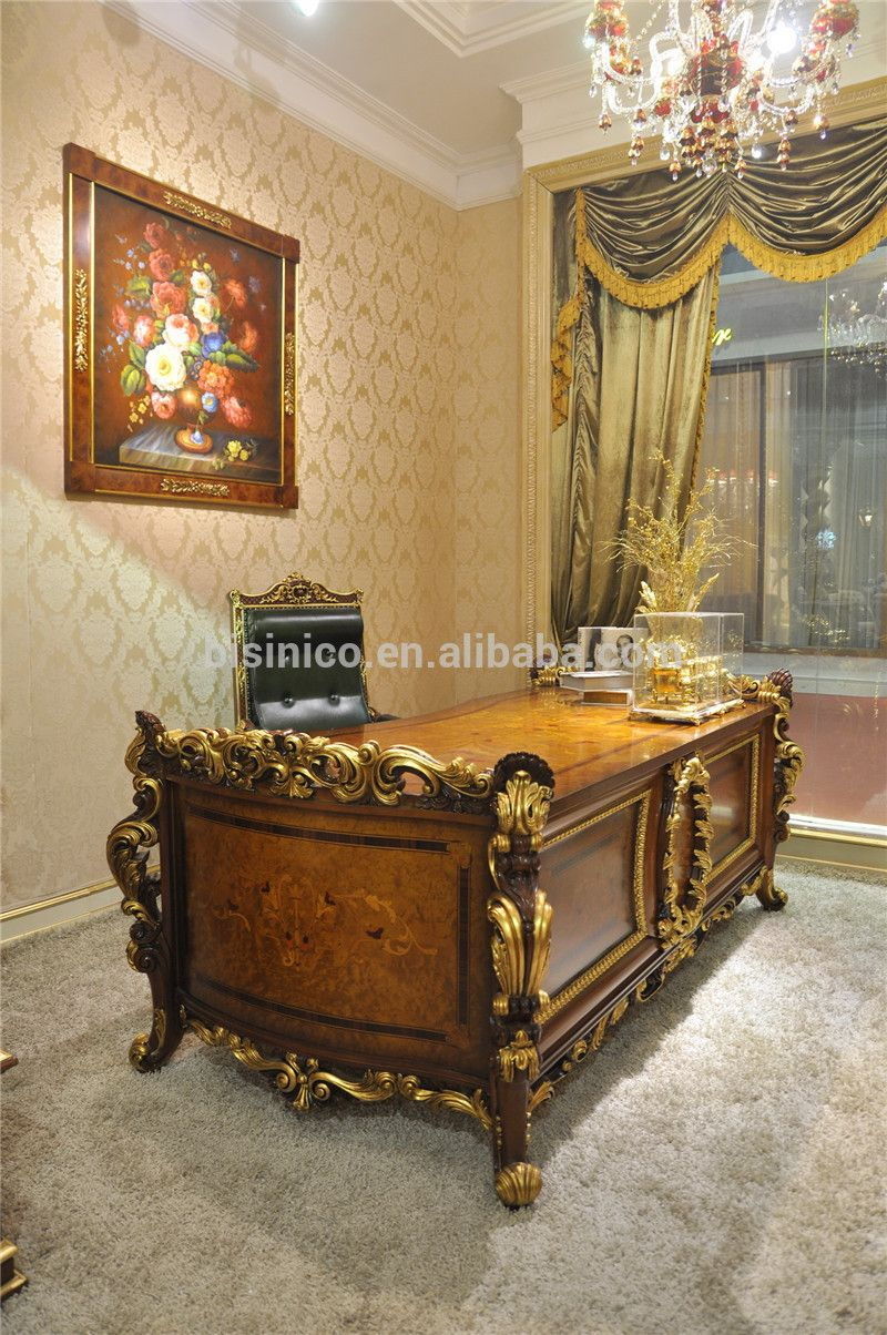 French Marquetry American Style Designer Bedroom Set Exquisite