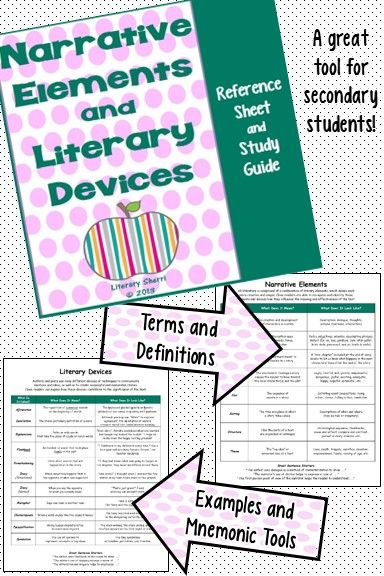 Study Guide Author S Craft And Literary Devices Common Core