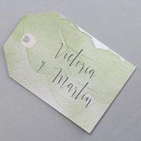 Invitación de Boda Eucalipto M38-011 - Collection Vintage - Faire-part-creatif.com