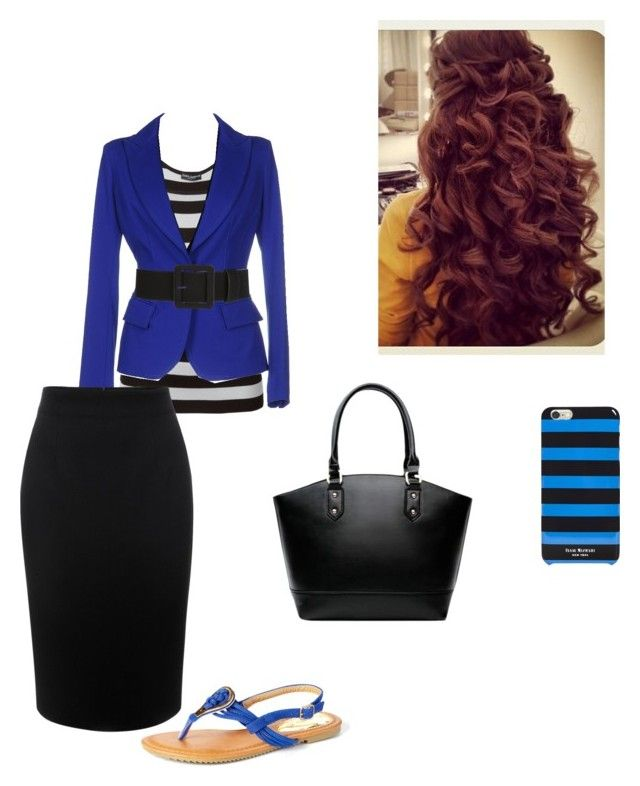 """""""Blue, Blue, And More Blue! :-)"""" by singin4jesus ❤ liked on Polyvore featuring Dolce&Gabbana, Plein Sud, Isaac Mizrahi, Alexander McQueen and Victoria K"""