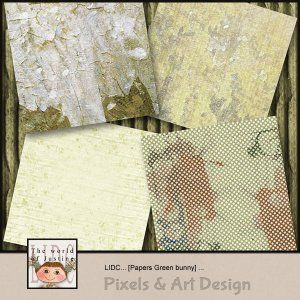 LIDC Digital Scrapbooking Papers Green bunny http://www.pixelsandartdesign.com/store/index.php?main_page=product_info&cPath=1_265_268&products_id=800