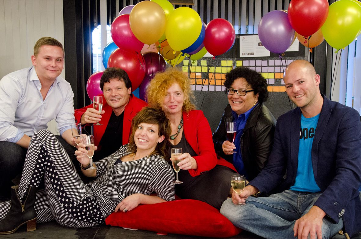 Nice to meet you online! We are Creative Desk. Stefan, Peter, Maartje, Martine, Loyda & Dennis.