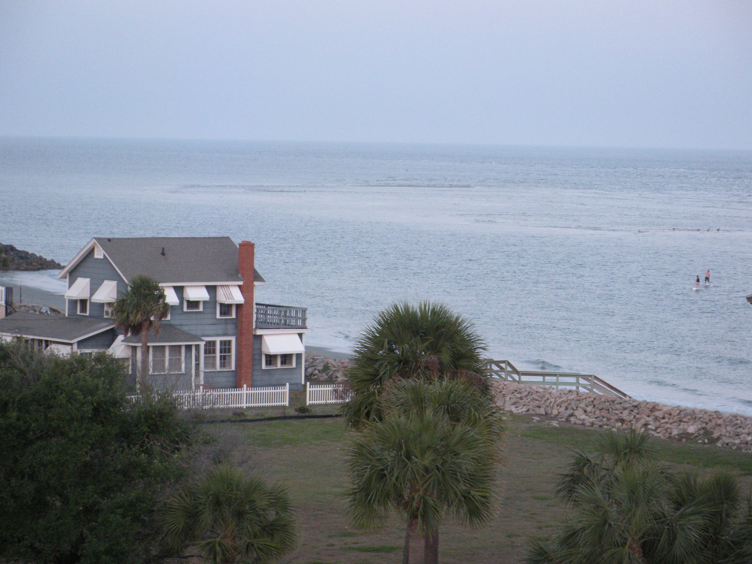 View of the water at St Simons St simons island, Places