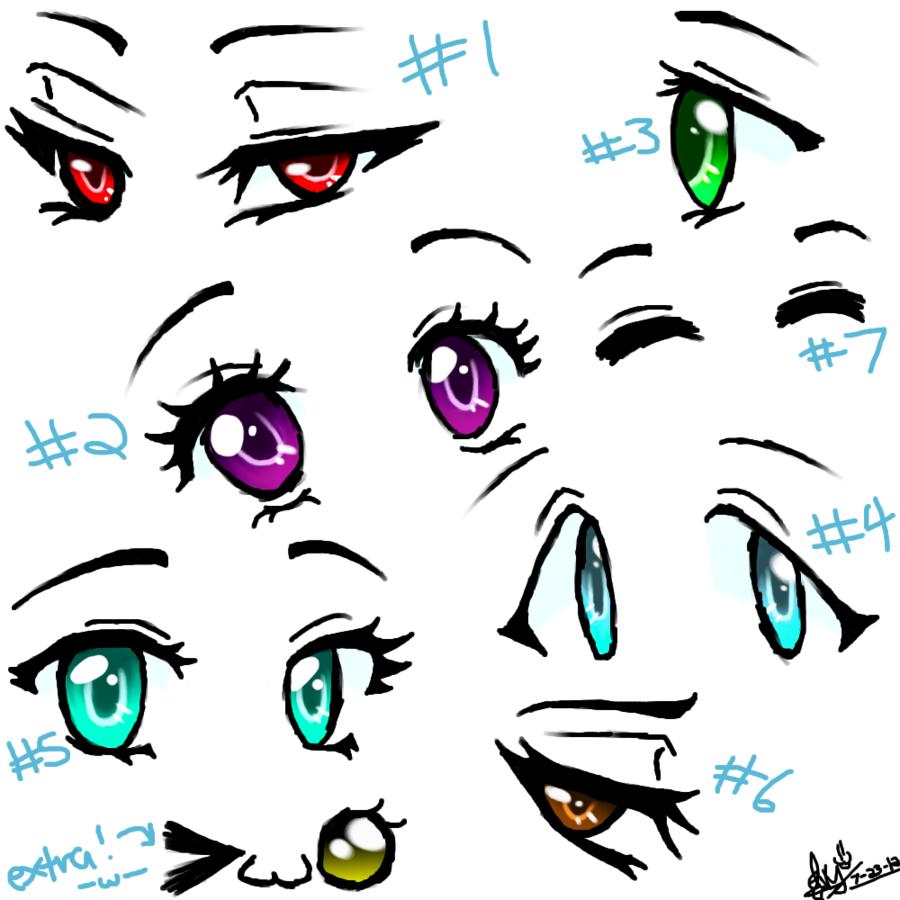 Cutie Eyes How To Draw Anime Eyes Eye Drawing Anime Eyes