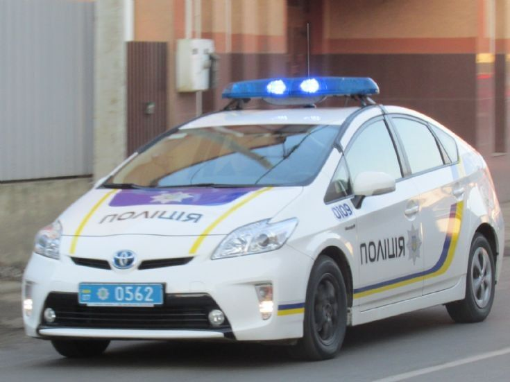 Police Car Photos Toyota Prius National Of Ukraine