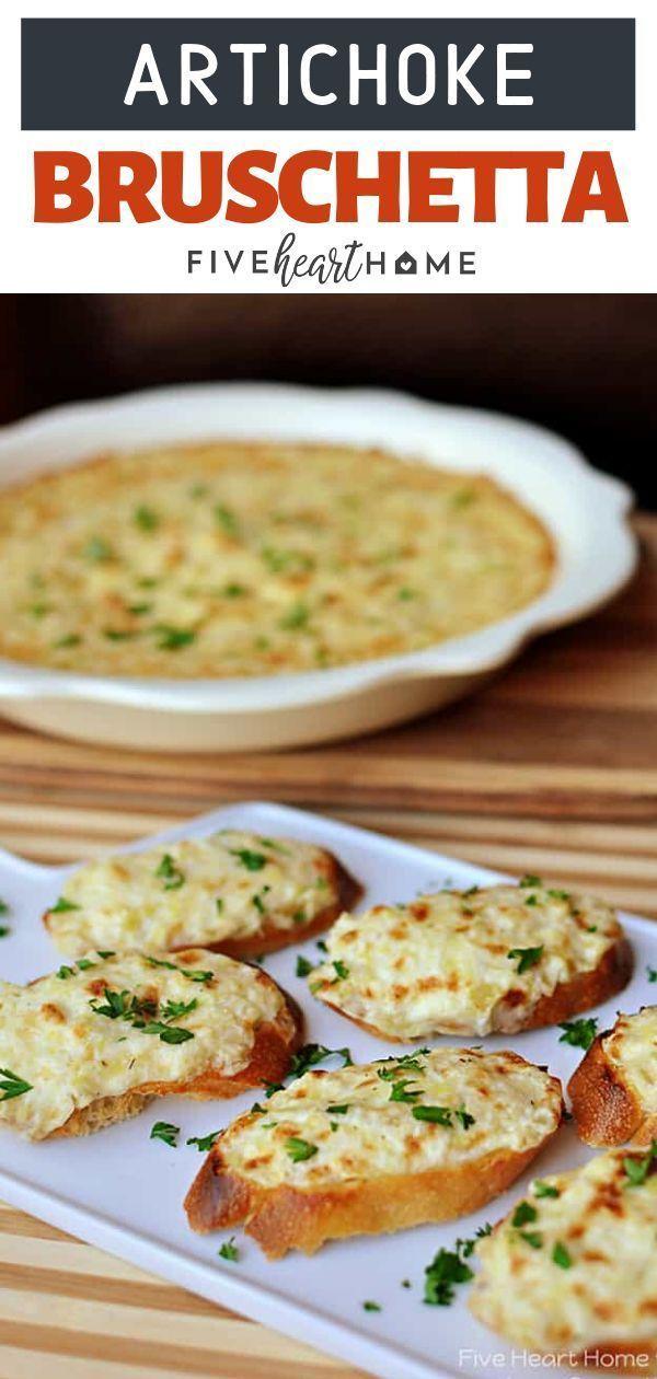 Photo of Artichoke Bruschetta or Hot Artichoke Dip