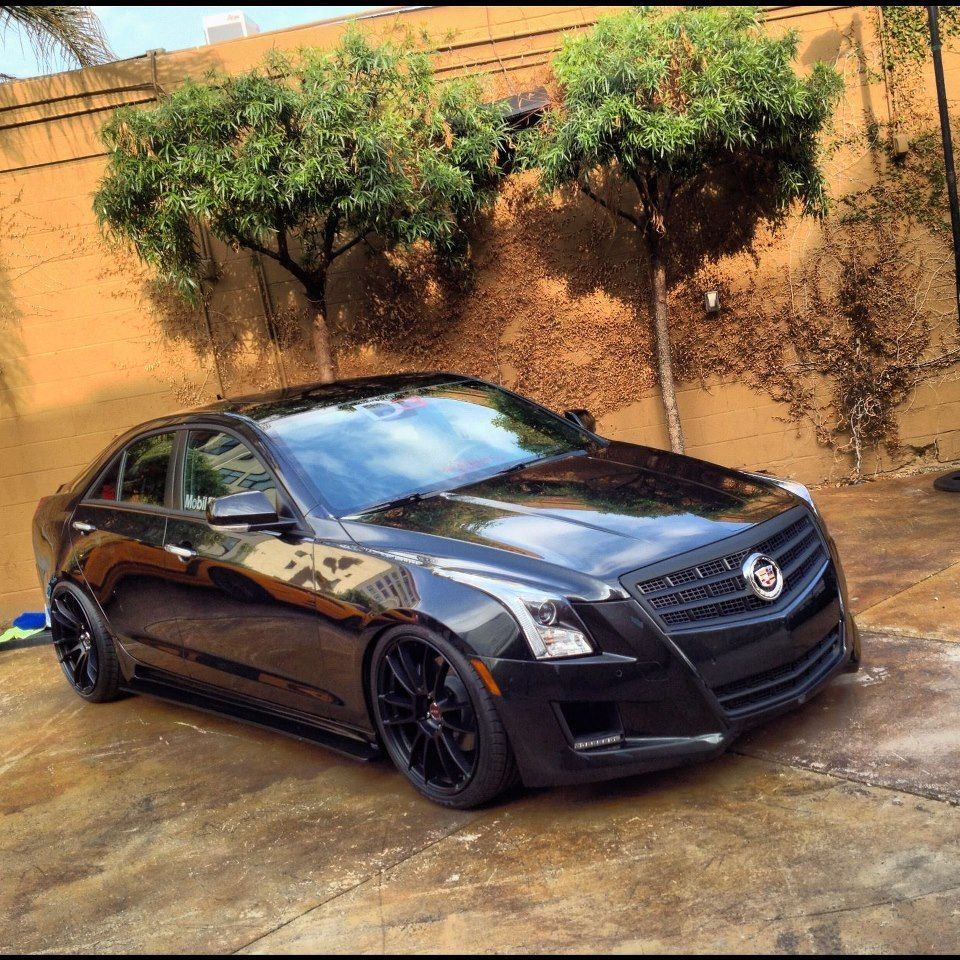d3 ats before sema lowered rims sideskirts etc page 2 cars pinterest cadillac ats. Black Bedroom Furniture Sets. Home Design Ideas