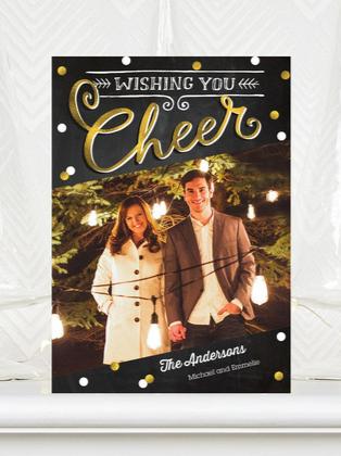 Card design: Yuletide Cheer  |  #ChristmasCards