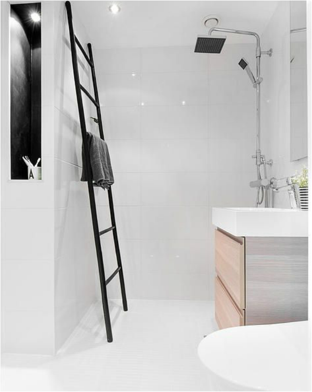 Scale a pioli moderne porta asciugamani per il bagno | Bathrooms ...