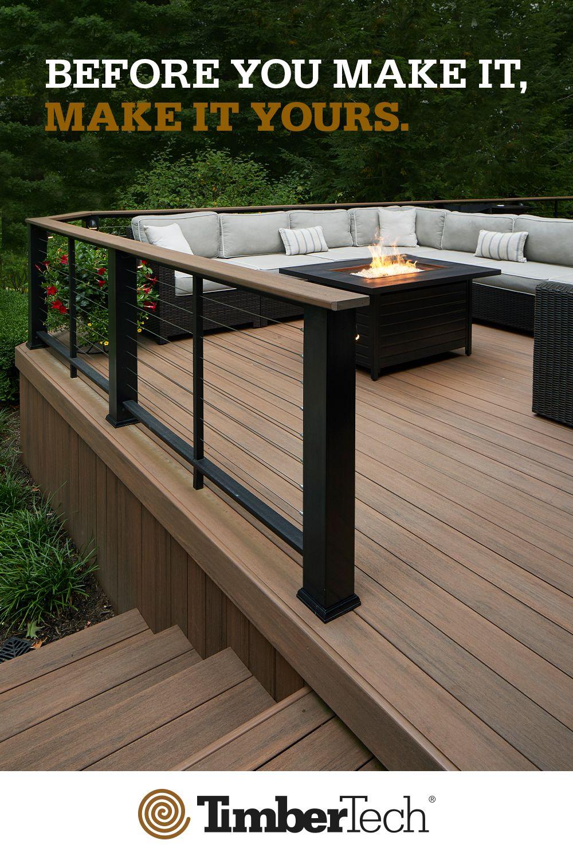 designer decks and patios on deck design tool deck planner design a deck timbertech in 2021 patio deck designs deck design decks backyard patio deck designs