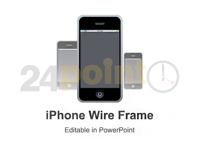 Iphone Wire Frame Template Http24point0ppt Shopiphone