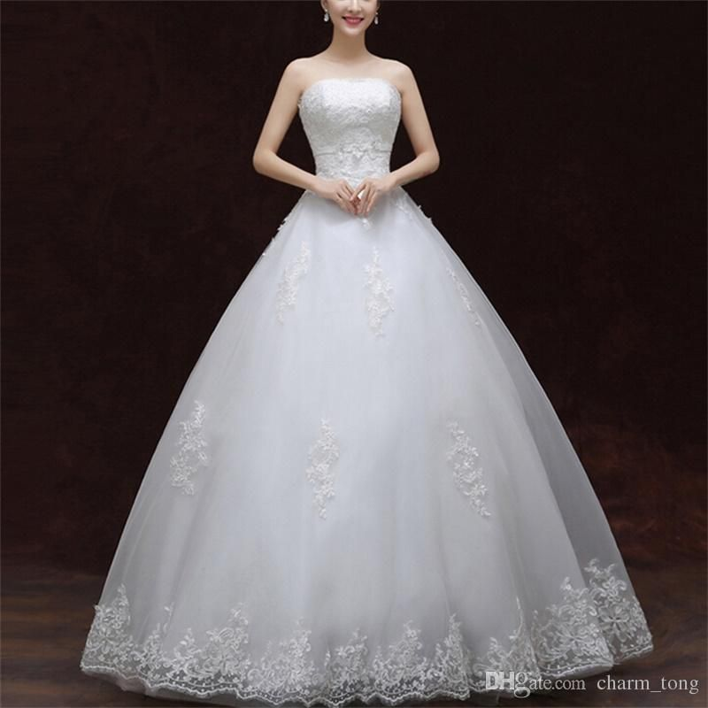 Funky Wedding Gowns: Brand New Wedding Dresses White/Ivory Formal Dress With
