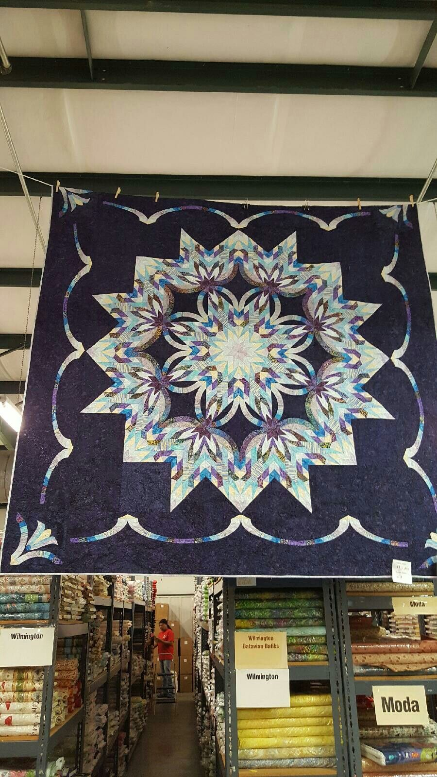 The Riviera star pattern I will start soon. Going to be a beautiful challenge