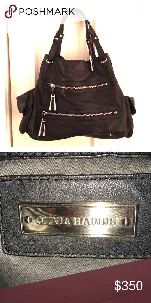 I just added this listing on Poshmark  Olivia Harris Black Leather Bag.   shopmycloset  poshmark  fashion  shopping  style  forsale  Olivia Harris   Handbags 5dc7c86399