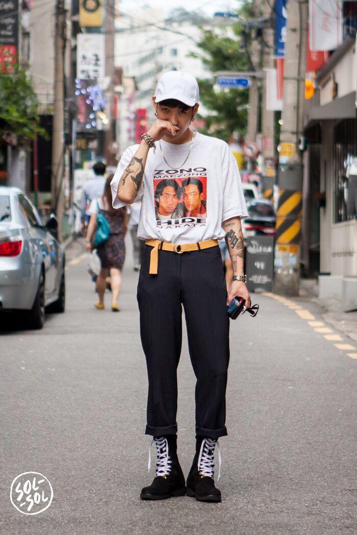 Seoul street style fashion … | KOREAN GUY FASHION | Korea…