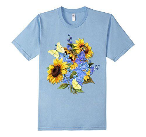 Men's Butterfly Sunflower Garden Bouquet T-shirt Small Baby Blue SpiceTree Designs http://www.amazon.com/dp/B01BX29NVK/ref=cm_sw_r_pi_dp_4U5Xwb1B1SSFN