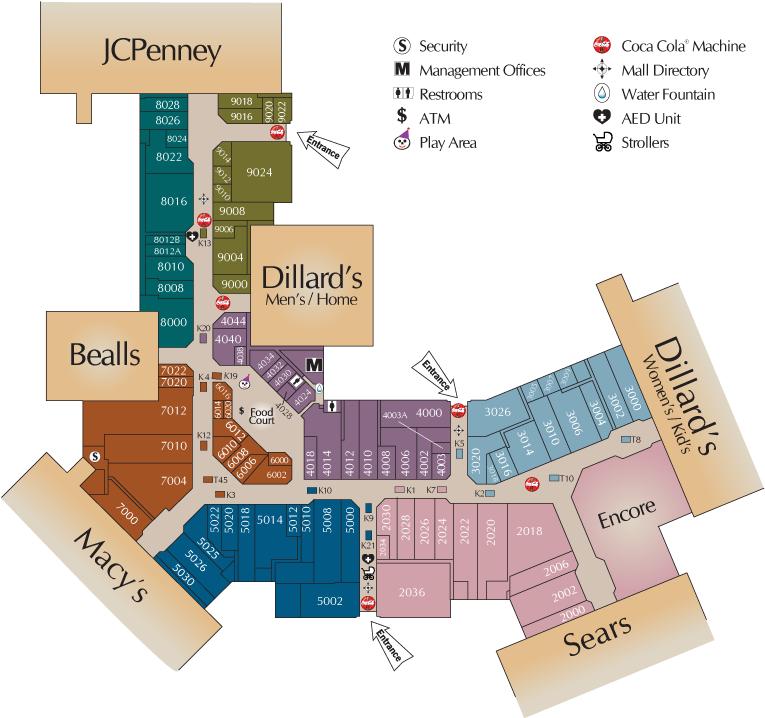 Post Oak Mall -- Directory