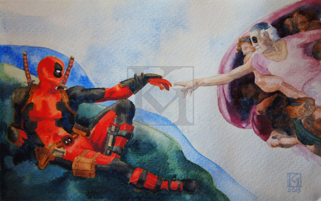 The Creation of Deadpool by PurpleMerkle.deviantart.com on @DeviantArt