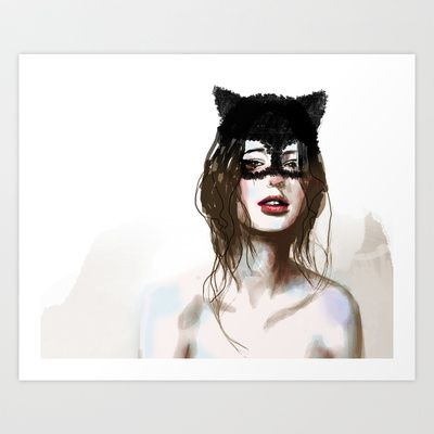 Superheroes SF Art Print by Deniz Erçelebi - $18.72