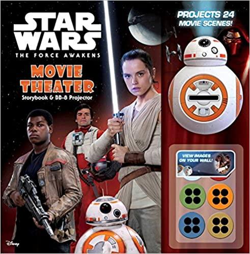 Star Wars The Force Awakens Movie Theater Storybook Bb 8 Projector Harper Benjamin 9780794437893 Amazon Com Books Movie Theater Force Awakens Awakens