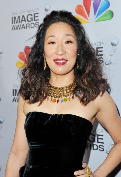 Sandra Oh. She won the award for Favorite TV Character We Miss Most ...