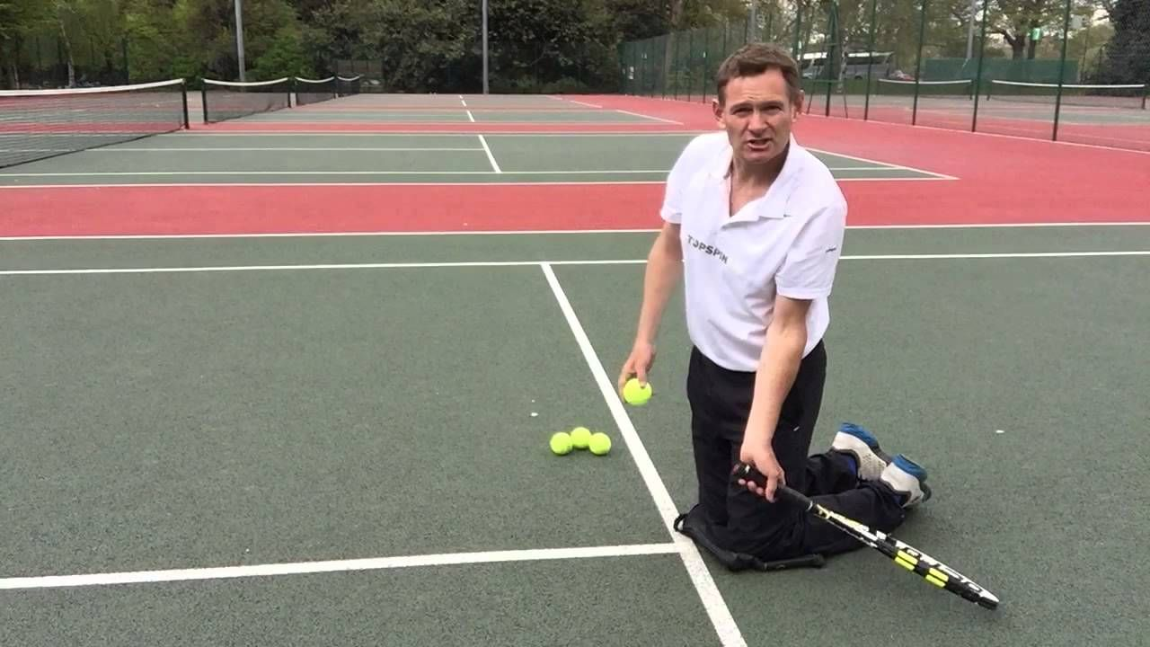 Secret Topspin Groundstroke Drill Tennis Tennis Drills Kids Tennis