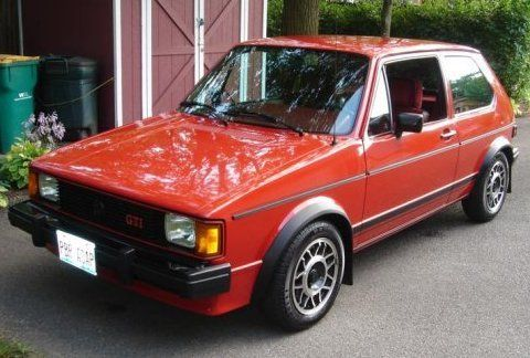 1984 Volkswagen VW Rabbit GTI  4 of us drove one of these from