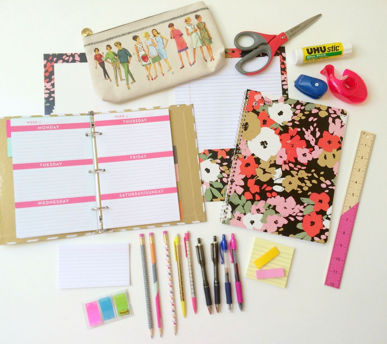 whatever bright things: School Supply Shopping Tips & List