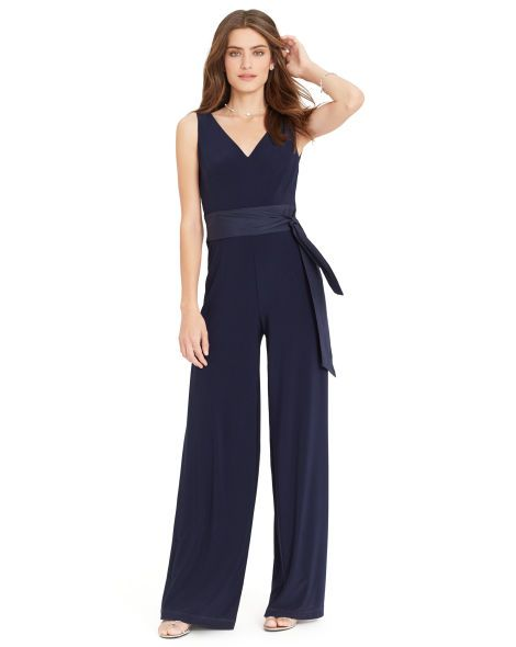 fd72b2da89ef Wide-Leg Jersey Jumpsuit - Lauren Jumpsuits - RalphLauren.com