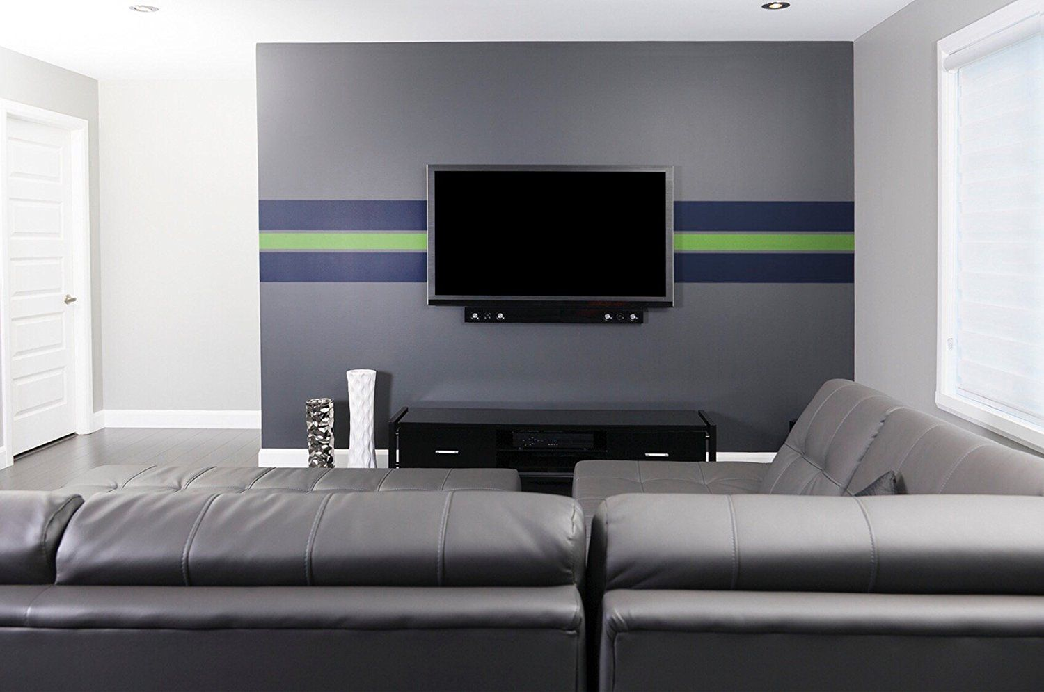 Tempaint Removable Peel And Stick Paint Savannah Blue Amazon Com With Images Seattle Sports Sports Wallpapers Green And Grey