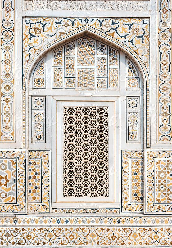 Arabic Mosaic Pattern Window By Alexander Grabchilev Islamic Architecture Mughal Architecture Islamic Mosaic