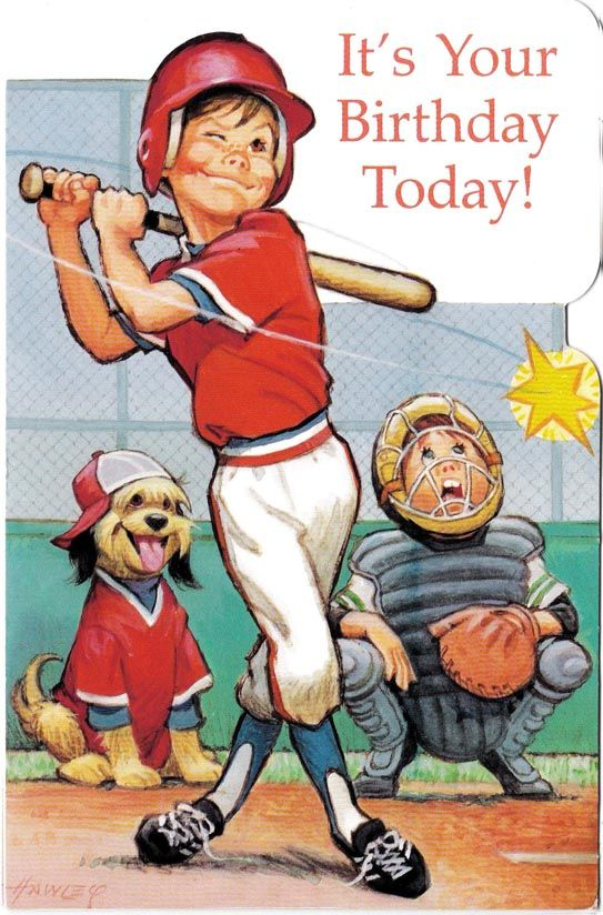 Adorable Sports Equipment Vintage Stickers Awesome!! American Greetings