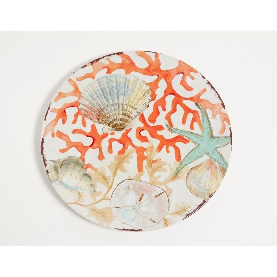Galleyware Company Reef 10.5 Melamine Dinner Plate Set of 4   Dinner ...