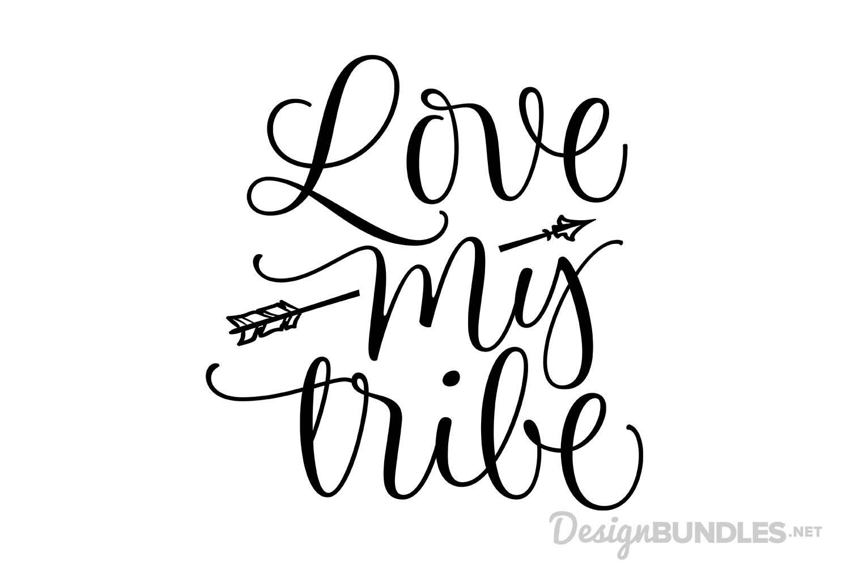 Download Love My Tribe Design Bundles Free Design Resources My Love Design Freebie