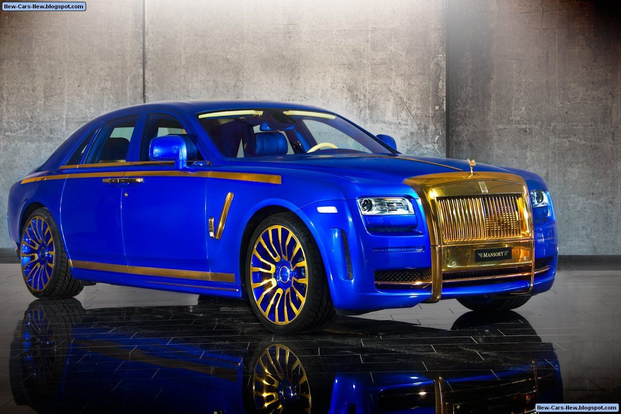 Mansory Rolls-Royce Ghost Gold Edition
