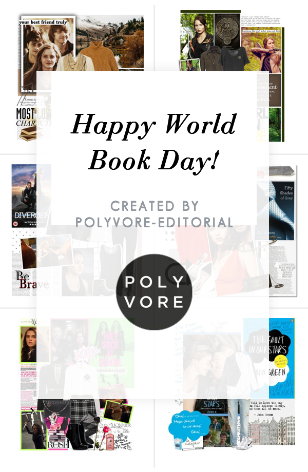 """""""Happy World Book Day!"""" by polyvore-editorial on Polyvore"""