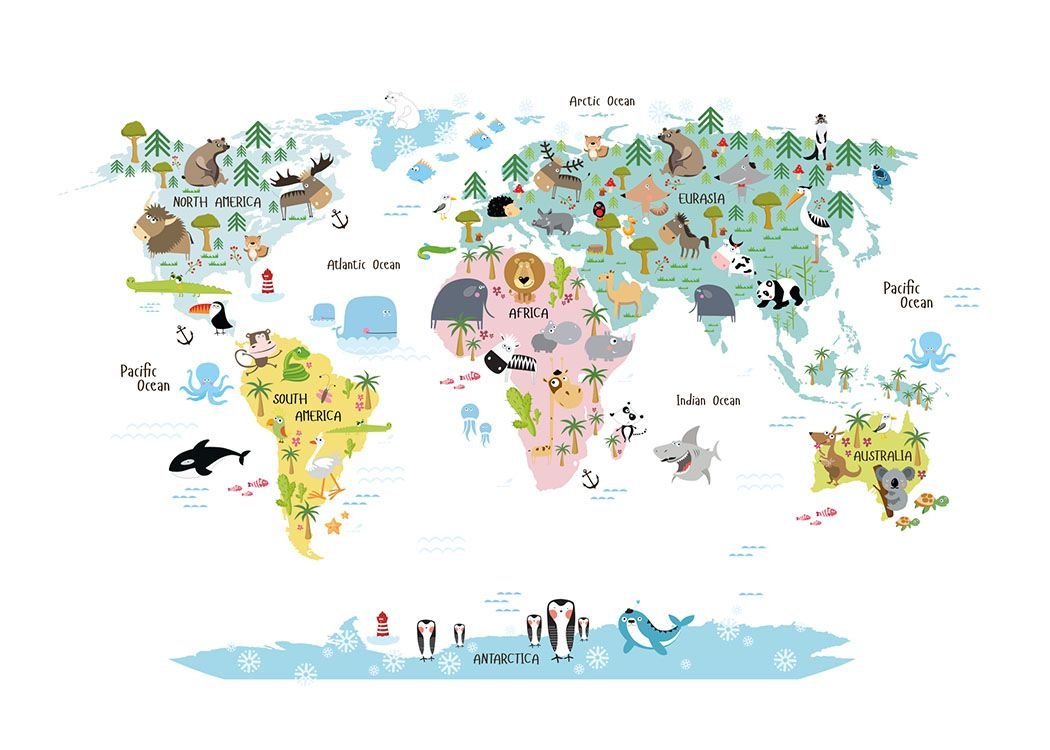 World map peel and stick poster sticker fabric posters world map peel and stick poster sticker fabric posters fabrics and playrooms gumiabroncs Image collections