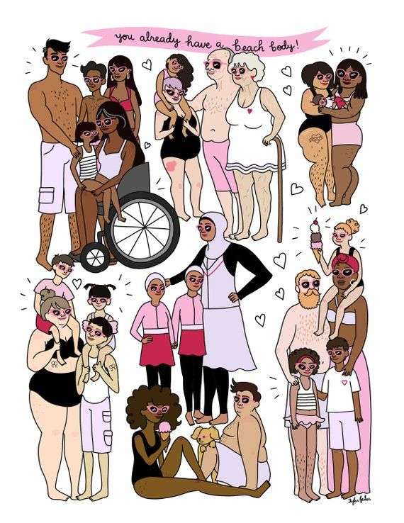Find images and videos about drawing, body positive and body posi on We Heart It - the app to get lost in what you love.