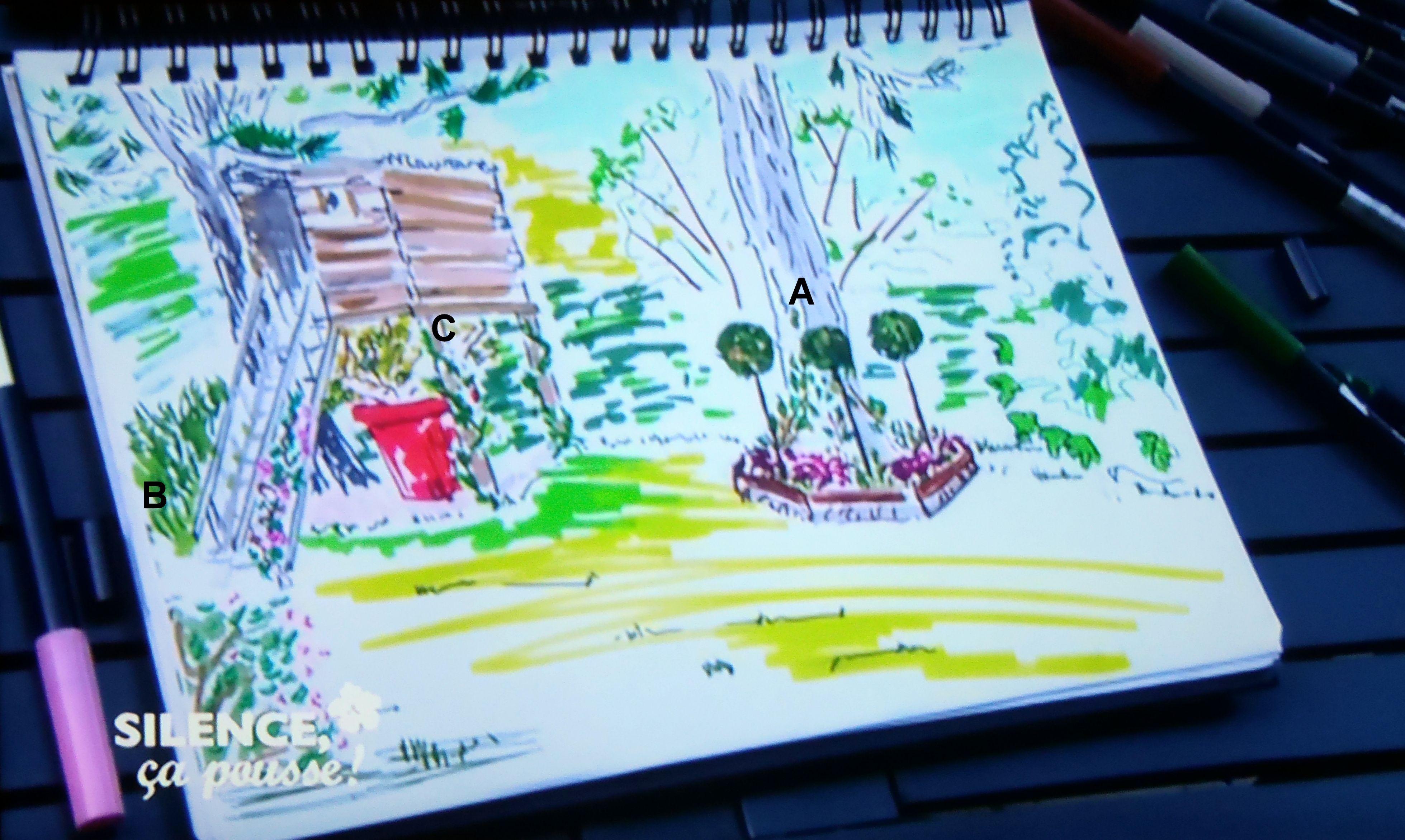 dessin st phane marie jardin cabane dessins de st phane marie silence a pousse pinterest. Black Bedroom Furniture Sets. Home Design Ideas
