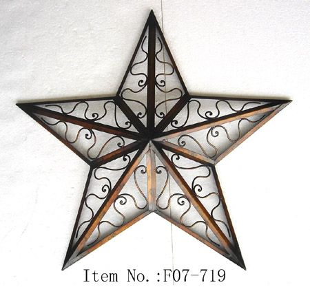 Joyful Metal Star Wall Decor | 285527 | Home Design Ideas