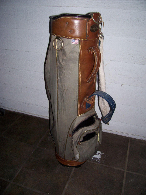 Vintage Old Spalding Golf Bag Made In Usa By Liz404 On Etsy