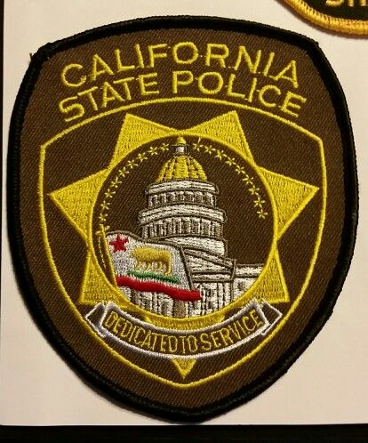 California State Police | Law Enforcement Patches and Badges