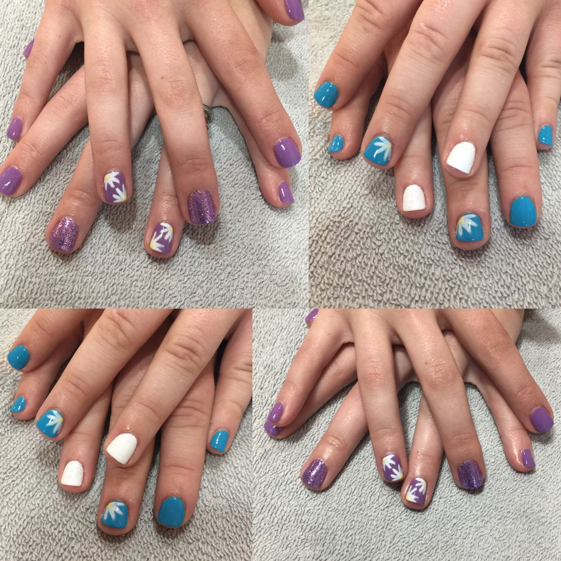 Who doesn't love some good spring nail design, flower nail ...