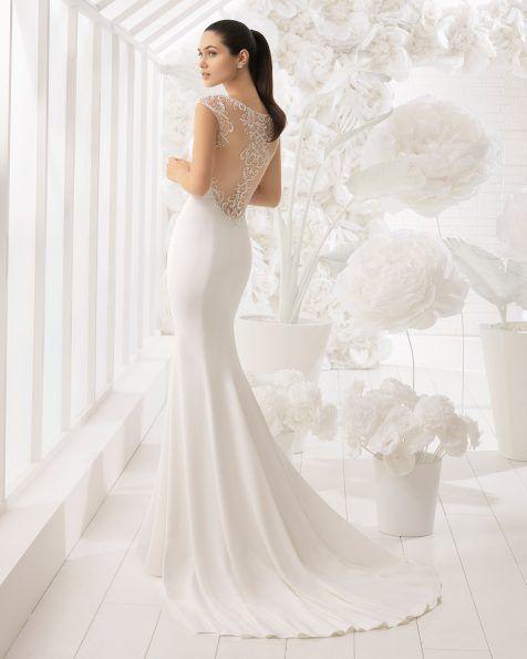 vestidos de novia con siluetas que estilizan el cuerpo de la mujer