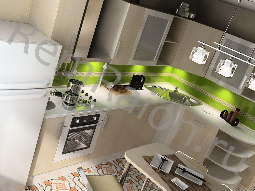 Кухня 10 кв метров - фото & дизайн кухни