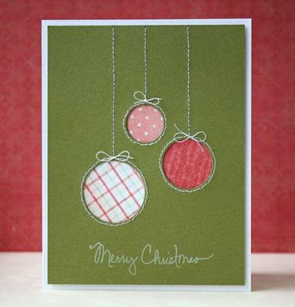 1001 sch ne weihnachtskarten selber basteln weihnachten pinterest weihnachten karten und. Black Bedroom Furniture Sets. Home Design Ideas