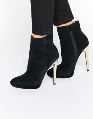 Gold Heels Of Faith Heeled Ankle BootsAll Types Felix Solo 0OvwnmN8